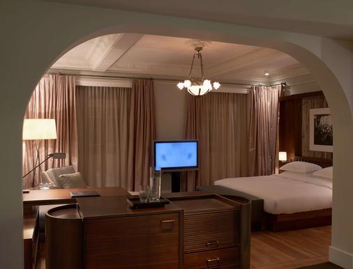 伊斯坦布尔-马其卡宫柏悦酒店 - 伊斯坦布尔 - 睡房