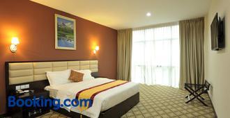 霍尔马克丽晶大酒店 - 柔佛巴鲁 - 睡房