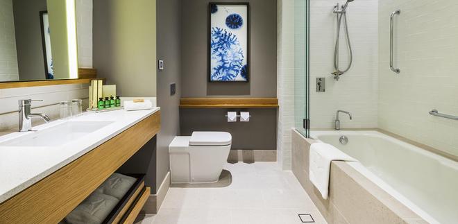 凯恩斯香格里拉大酒店 - 凯恩斯 - 浴室