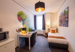 阿姆斯特丹瞬移酒店 - 阿姆斯特丹 - 睡房