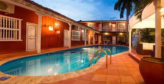 瑞蕾丝之家酒店 - 卡塔赫纳 - 游泳池