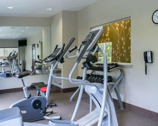Sleep Inn & Suites Round Rock - 圆石城 - 健身房