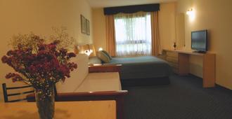 马蒂公寓酒店 - 蒙得维的亚 - 睡房