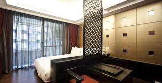 京站国际酒店式公寓 - 台北 - 睡房