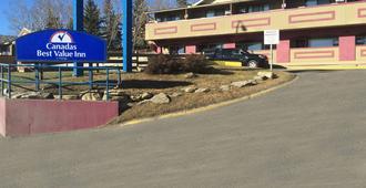 奇努克车站加拿大最佳价值汽车旅馆 - 卡尔加里 - 建筑