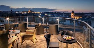 布拉格大都会酒店 - 布拉格 - 阳台