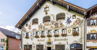 弗劳多福酒店旅馆 - 加尔米施-帕滕基兴 - 建筑