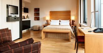 汉堡克利佩尔伊尔伯公寓酒店 - 汉堡 - 睡房