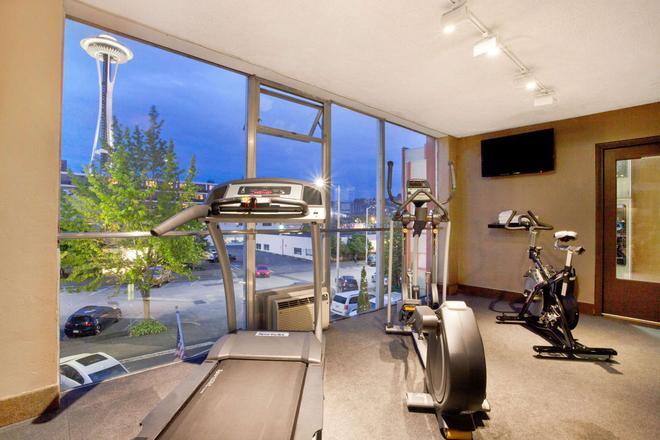 太空针塔西雅图旅游宾馆 - 西雅图 - 健身房