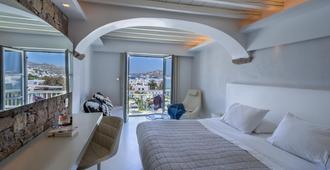 塞莫利酒店 - 米科諾斯岛 - 睡房