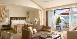 伊斯坦布尔博斯普鲁斯海峡四季酒店 - 伊斯坦布尔 - 睡房