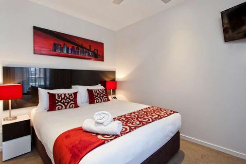 曼特拉城区公寓式酒店 - 布里斯班 - 客厅