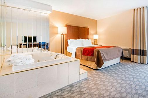 尼亚加拉瀑布舒适酒店 - 尼亚加拉瀑布 - 睡房
