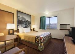 沃爾速8飯店 - 沃尔(南达科他州) - 睡房
