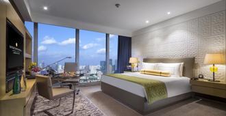 上海静安洲际酒店 - 上海 - 睡房