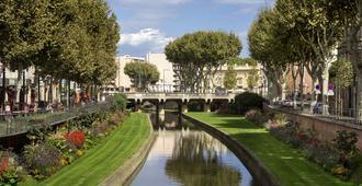 佩皮尼昂中央诺富特套房酒店 - 佩皮尼昂 - 户外景观