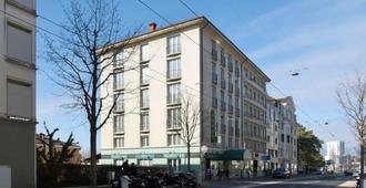 贝尔里夫酒店 - 洛桑 - 建筑