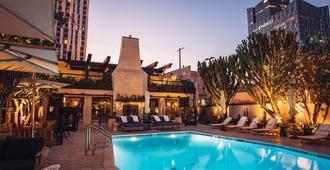 菲格罗亚酒店 - 洛杉矶 - 游泳池