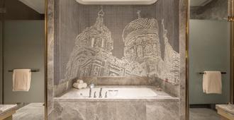 哈尔滨松北万达皇冠假日酒店 - 哈尔滨 - 浴室