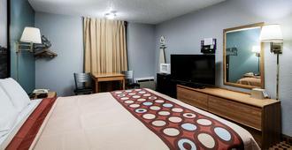 艾克城速8酒店 - 埃尔克城 - 睡房