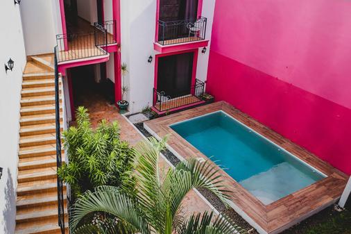 格兰森特纳里欧酒店 - 梅里达 - 游泳池