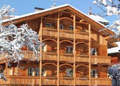 克里斯托弗鲁斯山区公寓式酒店 - San Vigilio di Marebbe - 建筑