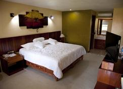 洛斯安第斯夸察夸尔科斯酒店 - 夸察夸尔科斯 - 睡房