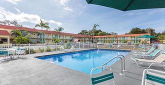 萨拉索塔近西埃斯特基温德姆速 8 酒店 - 萨拉索塔 - 游泳池