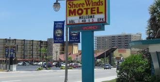 岸风汽车旅馆 - 代托纳海滩