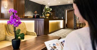 贝斯特韦斯特普拉斯皇家套房酒店 - 莱比锡 - 柜台