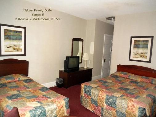 华盛顿特区哈灵顿酒店 - 华盛顿 - 睡房
