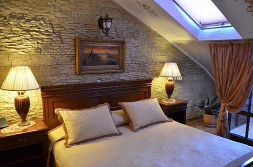 鲍里斯宫殿及餐厅精品酒店 - 普罗夫迪夫 - 睡房