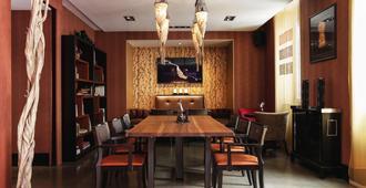 日内瓦东西方酒店 - 日内瓦 - 餐厅