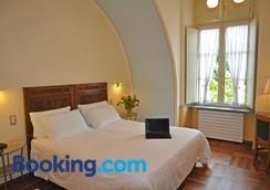 罗马和凯沃尔岩酒店 - 都灵 - 睡房