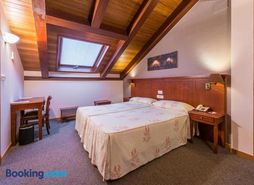 赫拉杜拉酒店 - 圣地亚哥-德孔波斯特拉 - 睡房