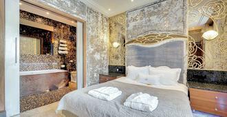 马拉安琪拉豪华客房 SPA 酒店 - 索波特 - 睡房