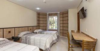 亚美利加朵索酒店 - 圣保罗 - 睡房