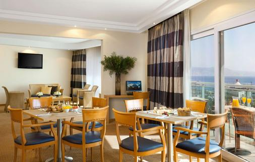 埃拉特丹帕诺拉玛酒店 - 埃拉特 - 餐厅