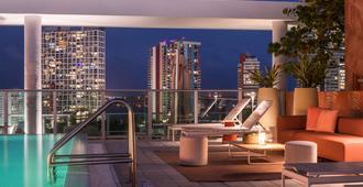 迈阿密布里克尔诺富特酒店 - 迈阿密 - 阳台