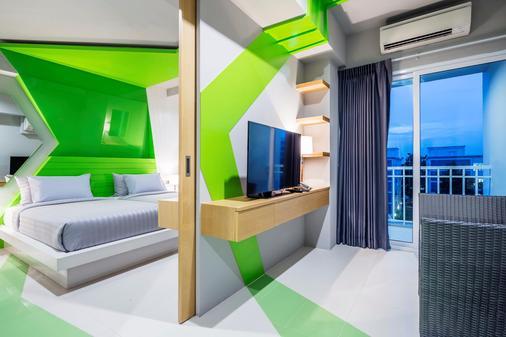 艾特莱尔套房酒店 - 曼谷 - 睡房