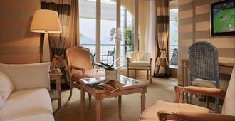 卡斯塔尼奥拉大酒店 - 卢加诺 - 客厅