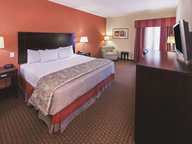 阿瑟港温德姆拉昆塔套房酒店 - 阿瑟港(德克萨斯州) - 睡房