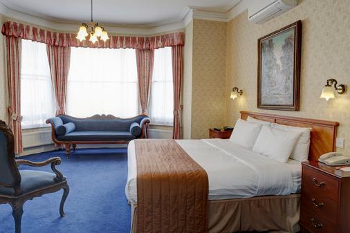 伦敦瑞士小屋贝斯特韦斯特酒店 - 伦敦 - 睡房