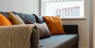 曼彻斯特中央可爱家庭公寓酒店 - 曼彻斯特 - 客厅