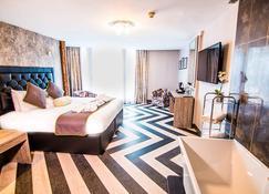 格兰德酒店 - 斯旺西 - 睡房