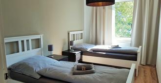 谢德霍夫街好运公寓酒店 - 埃森 - 睡房
