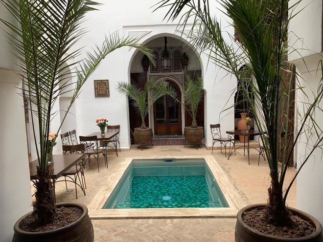 里亚德诺拉酒店 - 马拉喀什 - 游泳池