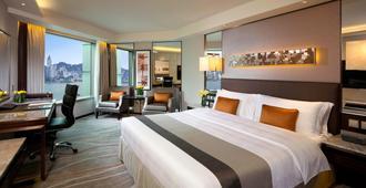海景嘉福酒店 - 香港 - 睡房