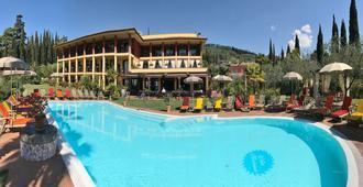 教母别墅养生度假村酒店 - 加尔达 - 游泳池