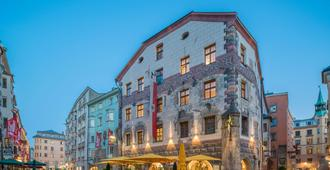 最佳西方因斯布鲁克阿德勒戈尔登酒店 - 因斯布鲁克 - 建筑